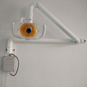 New Dental Wall Hanging Medical Surgical Lamp Shadowless Cold Light With Arm