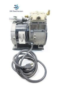 New Thomas 688ce44 Piston Air Compressor vacuum Pump Aerator 1 3hp W cord