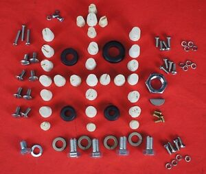 Deluxe Ih Farmall Cub Restoration Hardware Kit Hood Seat Carb Ignition Grommets