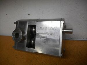 Unibloc Series 5000 1 Rotary Lobe Pump Sn 0085 Size 300 Used With Warranty