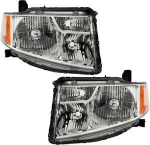 Oe Replacement Headlights Headlamps New Pair Set For 09 11 Honda Element Ex Lx