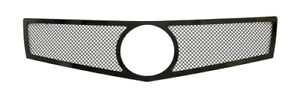 For 2013 2014 Cadillac Ats Logo Show Stainless Black Mesh Grille
