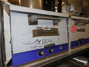 Bakers Pride P18 Countertop Electric Oven With Stone Deck Never Used
