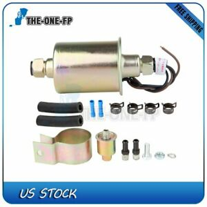 Universal Low Pressure Electric Fuel Pump With Installation Kit E8016s