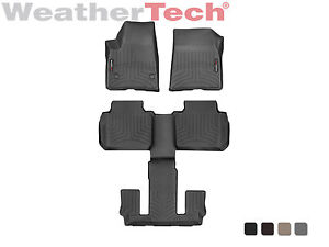 Weathertech Floor Mats Floorliner For Gmc Acadia W Bucket Seats 2017 2019
