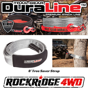 Trail Gear Duraline 3 X 8 Tree Saver Strap 303680 Kit Recovery 4x4 Offroad