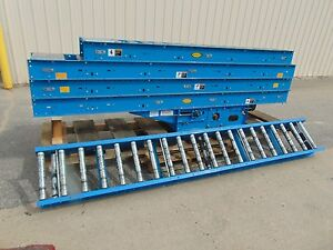 48 Hytrol Driven Belt Conveyor Gravity Roller Conveyor