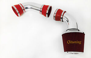 Red Cold Air Intake Kit For 1996 2004 Chevy S10 4 3l V6 Pickup Cold Air Intake