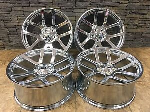 22 22inch Dodge Ram 1500 Srt10 Style Set Of Four New Hd Chrome Wheels Rims 2223