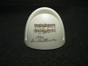 Page Up White Document Copy Holder With Beethoven Signature