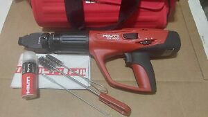 Hilti Dx 460 Powder Actuated Tool With X 460 f8 New Old Stock