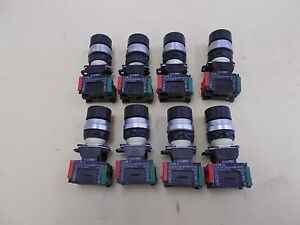 Telemecanique Selector Switch Class 9001 Type Da 11 Lot Of 8