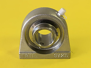 1 Stainless Steel Tapped Base Bearing Sucspa205 16 High Quality Sucstb205 16