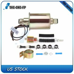 Universal Electric Fuel Pump With Installation Kit E8012s
