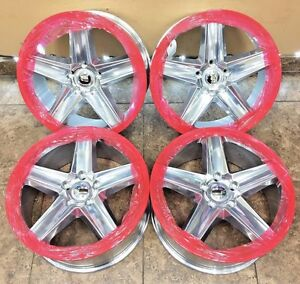 20 20 Inch Jeep Grand Cherokee Srt Iroc Replacement Polished Wheels Rims 4set