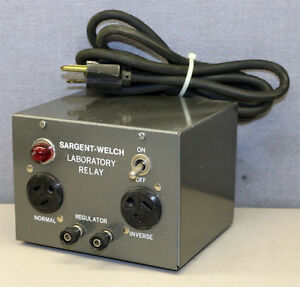 Sargent welch Scientific Company S81990 Laboratory Relay