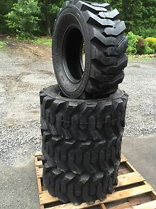 4 New 14 17 5 Skid Steer Tires 14x17 5 14 Ply Rating for John Deere New Holland