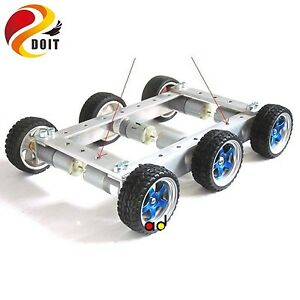 Original 6wd Robot Smart Car Chassis Big Load Large Bearing Chassis With Motor