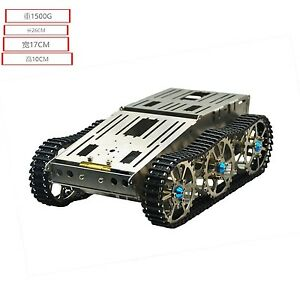 New Metal Robot Car Chassis Tank Chassis Platform For Arduino