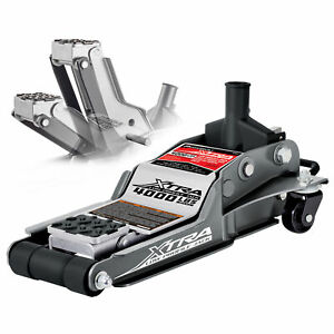 Powerbuilt 2 Ton Xtra Low Profile Floor Jack 2 3 4 To 15 1 4 Range 620479e