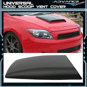 Universal Fitment Abs Air Flow Intake Hood Vent Scoop V3 Style 10x12 5 Inch