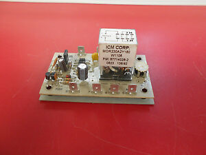 Icm Time Delay Relay 240 Vac 2189