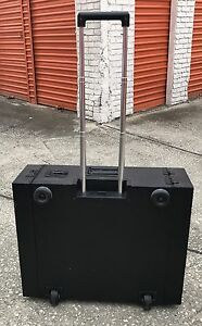 Cyber case Rackmount Case Complete With Recessed Casters And Handle