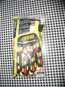 Mechanix Wear Orhd Waterproof Impact Protection High Visibility Work Gloves lg