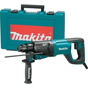 Makita Hr2641 1 Avt Rotary Hammer Accepts Sds plus Bits d handle Tool Only
