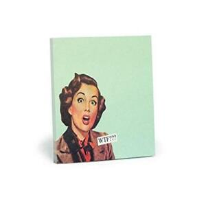 Usa Seller New Anne Taintor 73584 Wtf Sticky Notes Free Perfect Us Seller