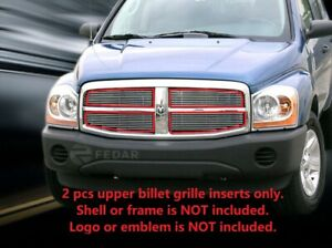 Polished Billet Grille Grill For Dodge Durango 2004 2005 2006