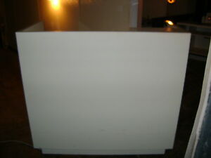 Kiosk White Retail Laminate Display Counter 7901 48 X 24 X 45