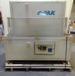 Commercial 11 X 22 C pak 2221 Heat Tunnel For Shrink Wrap Film Packaging