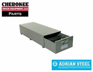 Adrian Steel Sa 20 Single Compartment Floor Drawer 20w X 12h X 51 5d Gray