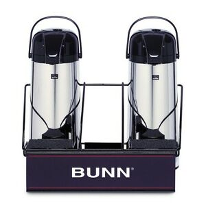 Bunn Apr2 2 Airpot Serving Rack For Coffee Machine Maker