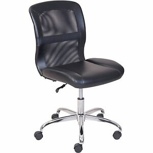 Mainstays Vinyl And Mesh Task Chair New