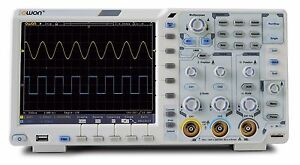 Owon Xds3202a 12 Bits Lcd 200mhz 2gs Oscilloscope Multi meter can battery