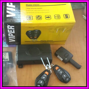 Viper 3105v One Way Vehicle Security System Car Alarm Keyless Entry