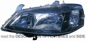 Lhd Headlight Opel Astra G 2001 2004 Right Side 1 93175724