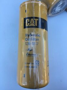 Caterpillar Part No 126 1817 Hydraulic Oil Filter W free Shipping