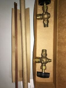 20 205 00 Apollo Valves 1 2 Npt Rough Brass Boiler Water Gauge 200psi 12 Glass