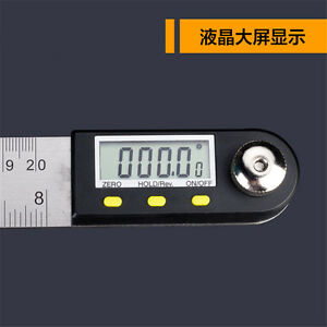Digital Electronic Protractor Angle Finder Miter Goniometer Gauge Ruler 300mm