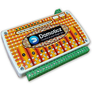 Domoticz Lan Ethernet Ip 8 Channels Relay Board Web Box