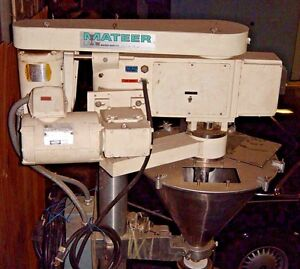 Mateer 31a Augar Filler W S s Hopper On Stand