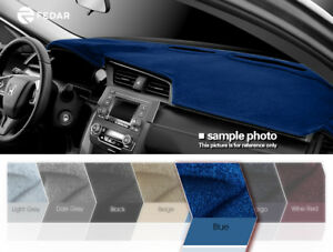 Blue Dashboard Pad Mat Dash Cover For 2000 2007 Chevy Monte Carlo