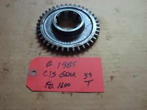 Ford 1600 Tractor Transmission C s Gear 39t Ref Sba322320100
