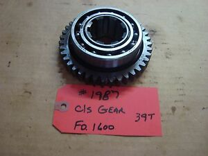 Ford 1600 Tractor Transmission C s Gear 39t Ref Sba322320080