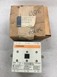 New In Box Siemens Arc Chute 3ty7 522 0a For 3tf52 Starter
