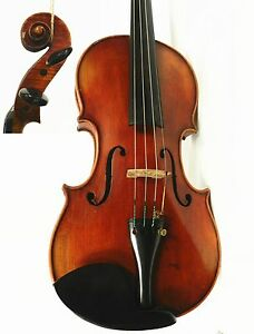 Old Vintage German 4 4 Size Violin Labeled John Juzek Violin Ready To Play