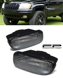 1999 2003 Jeep Grand Cherokee Fog Lights Replacement Fog Light Lamps Pair